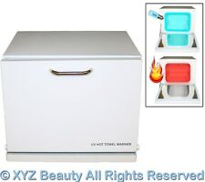 Mini Hot Towel Warmer UV Sterilizer Cabinet Spa Sanitizer Beauty Salon Equipment