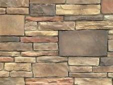 Stone Veneer Cultured Manufactured Southwest Mosaic Blend Stone -88 Square Feet-