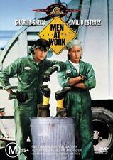 Men At Work (DVD, 2004) Charlie Sheen, Emilio Estevez - Free Post!