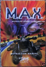Original Game Manual for the M.A.X. PC Computer Strategy Game