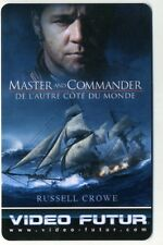 VIDEO FUTUR  collector  MASTER AND COMMANDER   (258)