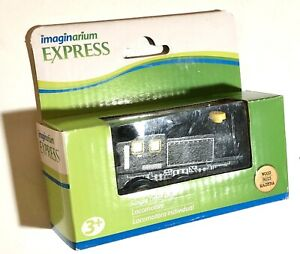 Imaginarium Locomotive train engine -wooden -black -new
