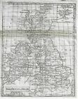 Fine British Map    GREAT BRITAIN and IRELAND     Copper Engraving   c1780