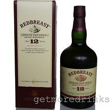 REDBREAST 12 Jahre SINGLE POT STILL IRISH WHISKEY 40% Whisky
