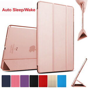 Slim Leather Magnetic Smart Stand Case Cover For iPad 9/8/7/6 2/3/4 mini Air Pro