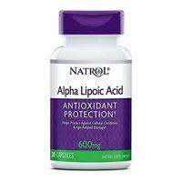 Naturol Alpha Lipoic Acid Capsules, 600 mg, 30 Ct (2 Pack)