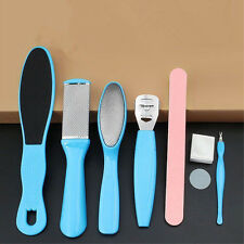 8in1 Manicure Pedicure Set File Foot Care Dry Hard Skin Callus Remover Tool Kit