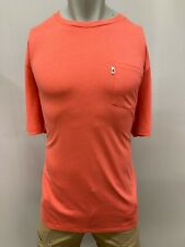 "New johnnie-O ""Plain Pocket"" Men's Short Sleeve T-Shirt, Pink, XL"