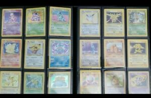 Lot of 25 VINTAGE Pokemon Cards - WOTC Sets ONLY! 1st Edition, Rare, & Holo Rare