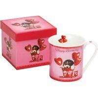 Happy Birthday Fine China Mug Gift Boxed - Beagle Dog