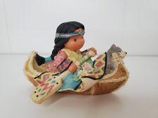 "Vintage Enesco Friends Of The Feather 1998 ""Little Traveler� Figurine #475300"