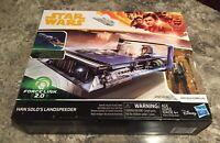 Star Wars Force Link 2.0 Han Solos Landspeeder with Action Figure Corellia Solo