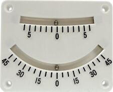 Watski Clinometer ,Krängungsmesser,Neigungsmesser, gute Lesbarkeit,weiß,Top,UVP
