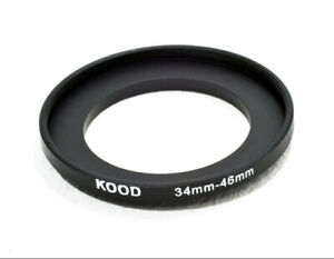 Stepping Ring 34mm - 46mm Step Up Ring 34-46mm 34mm Bis 46mm Ring