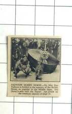 1936 Padstow Hobbyhorse, With Teazer, May Day Middle Ages