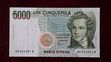 5000 lire del 26/11/1996 V. Bellini qfds