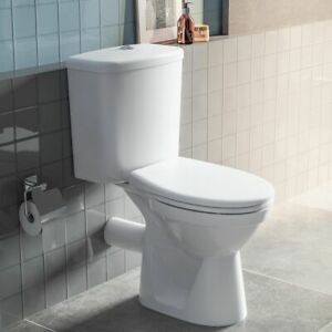 Vitra Brand Milton Close Coupled Toilet WC with Cistern Including Toilet Seat