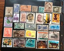India postage stamps lot of 28 old