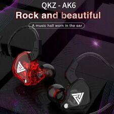 QKZ Copper Driver HiFi Sport Professional Earphone Microphone Music Earbuds AK6