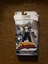 """Marvel Legends 6"""" Maximum Venom Venomized Captain America Figure NIB Spider-Man"""