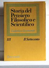 Geymonat IL SETTECENTO Storia del Pensiero Filosofico e Scientifico 3