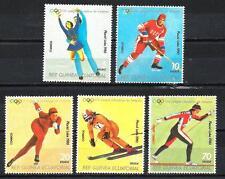 JO Hiver Guinée équatoriale (14) série complète de 5 timbres neuf** 1er choix