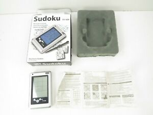 Hand Held Electronic Game Sudoku Portable 3 Levels # TY- 426