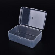 Petite boîte de rangement en plastique transparent à usages multiples*_
