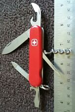 RETIRED WENGER COMMANDER SWISS ARMY KNIFE MULTI TOOL SAK POCKET KNIFE TSA