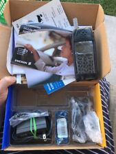 Vintage Ericsson r280 lx Cell Phone  MINT  WITH Box, Cigarette Lighter Charger