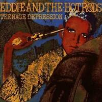 EDDIE AND THE HOT RODS – TEENAGE DEPRESSION LIMITED CLEAR VINYL LP (NEW/SEALED)
