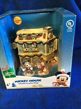 New listing Disney Mickey's Toy Shop Mickey Mouse Porcelain Village Christmas - New Open Box