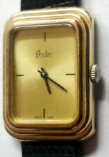 Vintage Swiss-Made Pedre Gold Dial Mechanical Wind Watch #12111
