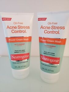Neutrogena Oil-Free Acne Stress Control- Set of 2