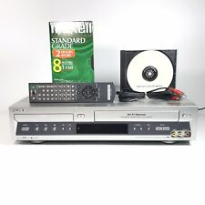 Sony SLV-D100 DVD Player / VCR Recorder Combo w/ Original OEM Remote | Tested
