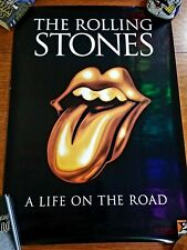 Rolling Stones Life On The Road Book Promo Poster