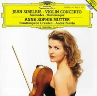 ANNE-SOPHIE MUTTER-SIBELIUS: VIOLIN CONCERTO OP.47...-JAPAN CD Ltd/Ed C41