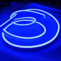 DC12V Blue Super Flex LED Neon Rope Light Commercial Sign Home KTV Decor Outdoor