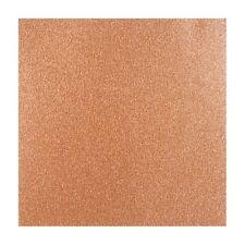 "COPPER SHIMMER 12"" x 12"" Scrapbooking Paper GLITTER SILK CARDSTOCK 2 Sheets"
