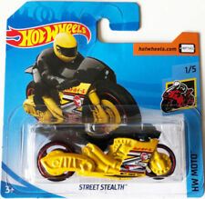 Articoli di modellismo statico gialli Hot Wheels in acciaio pressato