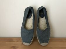 GAP Womens Deim Espardrilles flats shoes sz 7