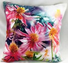 Anemone Flower Burst by Ruth S Harris (Artist) Evans Lichfield Cushion Cover