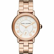 Marc Jacobs Women's Riley Rose Gold-Tone Chronograph Watch 36mm MJ3471
