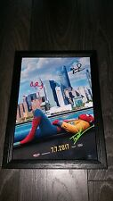 "SPIDERMAN: HOMECOMING PP SIGNED FRAMED MAN A4 12X8"" PHOTO POSTER TOM HOLLAND"