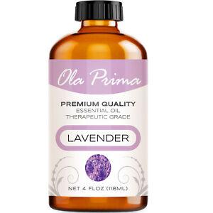 Lavender Essential Oil - Multiple Sizes - 100% Pure Amber Bottle