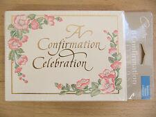 NEW Carlton Cards A Confirmation Celebration 8 Invitation Cards & Envelopes