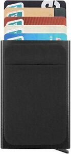 Porte cartes de crédit protection cartes RFID étui mini portefeuille sécurisé