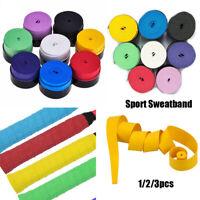 Tennis Racket Sweat Absorbed Wrap Racquet Vibration Sweatband Overgrip Wraps