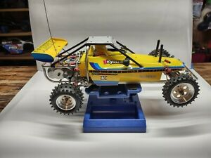 """Vintage 1982 Kyosho Scorpion RTR RC Car """"lot"""" with upgrades and extras."""