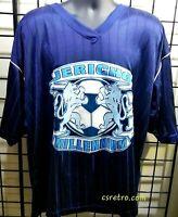 NEW Vintage CHRIS JERICHO WWF WWE Soccer Jersey Large XL XXL Retro AEW wrestling